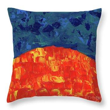 Sunrise Sunset 1 Throw Pillow