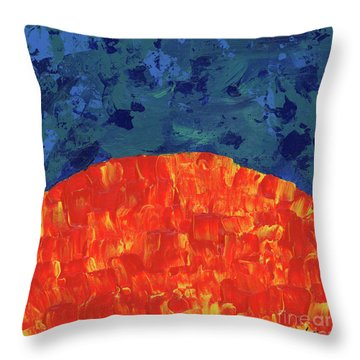 Sunrise Sunset 3 Throw Pillow
