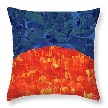 Sunrise Sunset 5 Throw Pillow