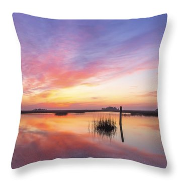 Sunrise Sunset Art Photo - I Belong Throw Pillow