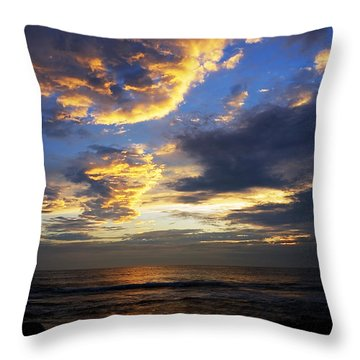 Sunrise Throw Pillow by Svetlana Sewell