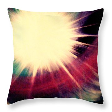 Sunrise Symphony Throw Pillow