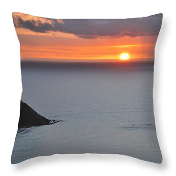 Sunrise View Throw Pillow