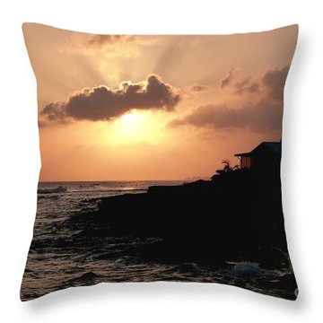 Sunset @ Spotts Throw Pillow by Amar Sheow