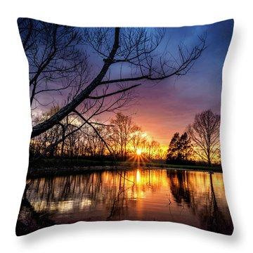 Sunset #10 Throw Pillow