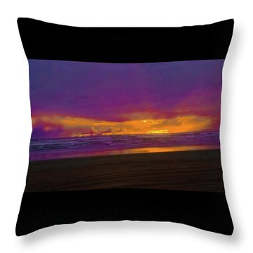 Sunset #3 Throw Pillow