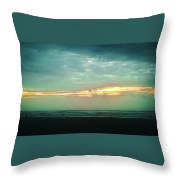 Sunset #4 Throw Pillow