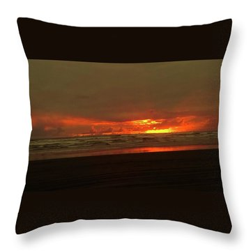 Sunset #5 Throw Pillow
