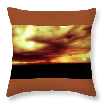 Sunset #6 Throw Pillow