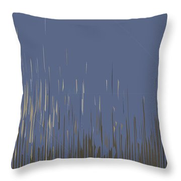 Sunset Across The Lake Throw Pillow