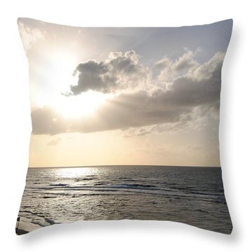 Sunset At Jaffa Beach 17 Throw Pillow