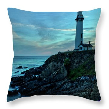 Sunset At Pigeon Point Throw Pillow