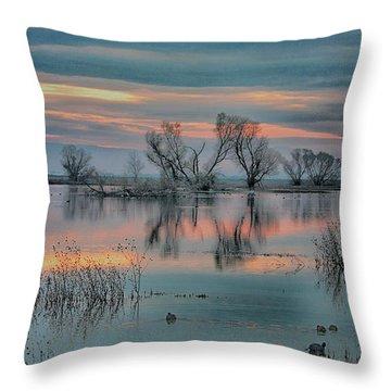 Sunset At San Luis   Throw Pillow