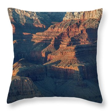 Sunset At The South Rim, Grand Canyon Throw Pillow