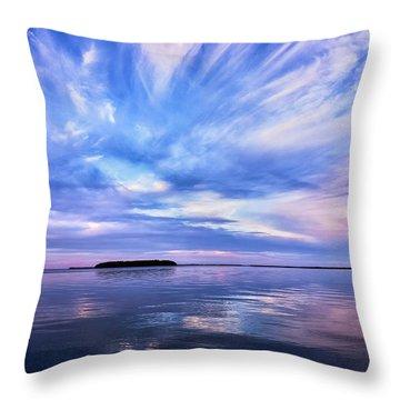 Sunset Awe Throw Pillow