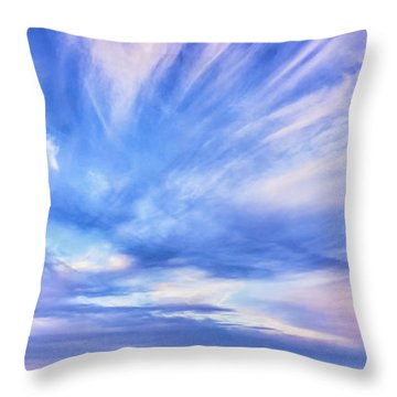 Sunset Awe Throw Pillow