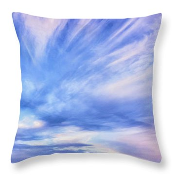 Sunset Awe  Signed Throw Pillow