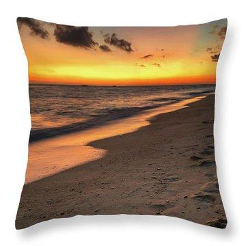 Sunset Boracay Philippines Throw Pillow