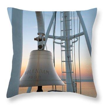 Sunset Bow Throw Pillow