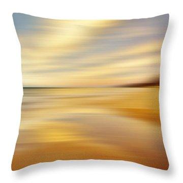 Sunset Breez'n Throw Pillow