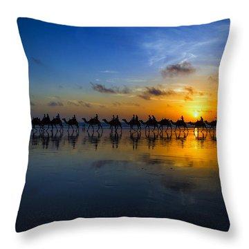 Camel Throw Pillows