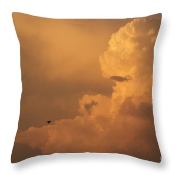Sunset Clouds 01 Throw Pillow