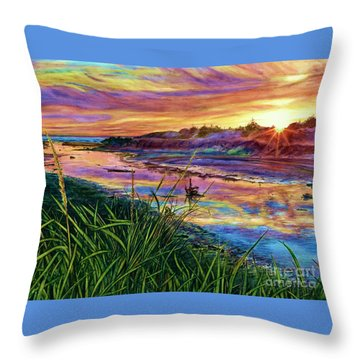 Sunset Creation Throw Pillow