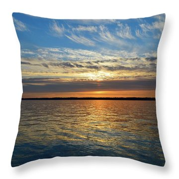 Sunset Dream  Throw Pillow