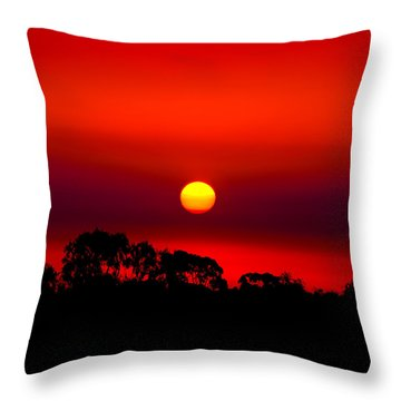 Sunset Dreaming Throw Pillow