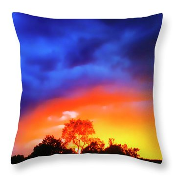 Sunset Extraordinaire Throw Pillow