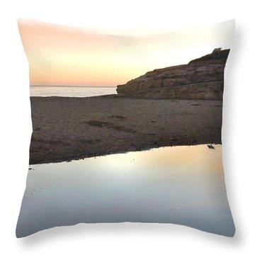 Sunset Family Throw Pillow