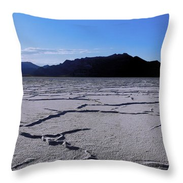 Sunset Flats Throw Pillow