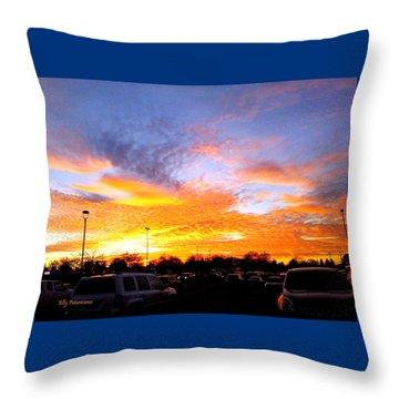 Sunset Forecast Throw Pillow
