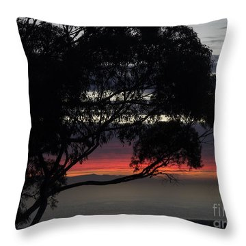 Sunset Hill Throw Pillow
