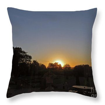 Sunset In Kilkenny Throw Pillow by Cindy Murphy - NightVisions