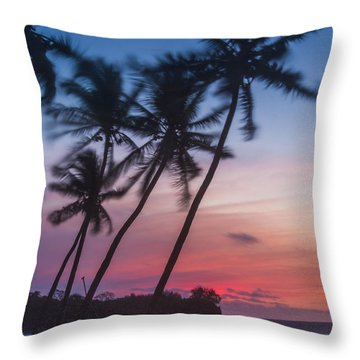 Sunset In Paradise Throw Pillow by Alex Lapidus