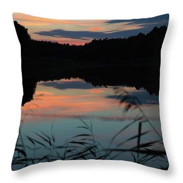 Sunset In September Throw Pillow
