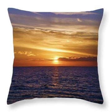 Sunset In Sw Florida Throw Pillow