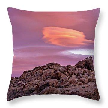 Sunset Lenticular Throw Pillow