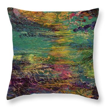 Sunset Magic Throw Pillow
