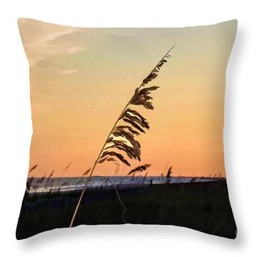 Sunset Memories Throw Pillow