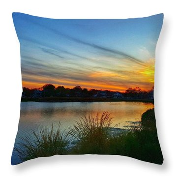 Colors Of The Sky Throw Pillow