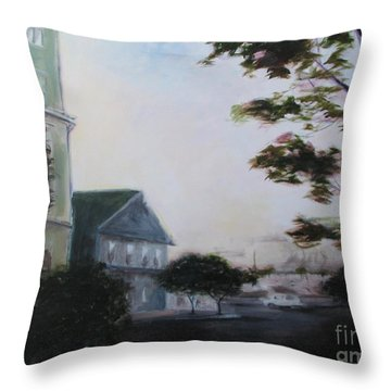 Sunset On G Street Throw Pillow