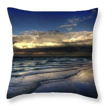 Sunset On Sanibel Throw Pillow