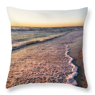 Throw Pillow featuring the photograph Sunset On Tigertail by Lars Lentz