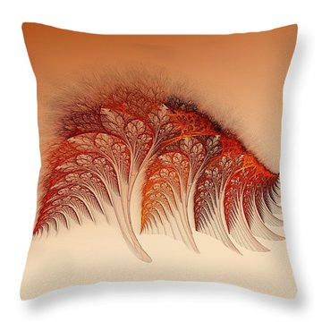 Sunset On Yessland Throw Pillow
