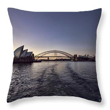 Sydney Skyline Throw Pillows