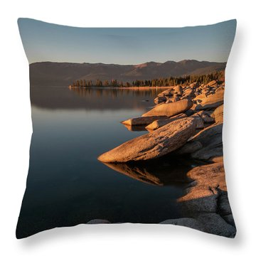 Sunset Peace Throw Pillow
