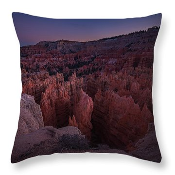 Sunset Point Throw Pillow