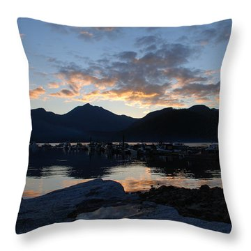 Sunset Reflections #1 Throw Pillow